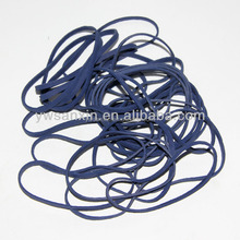 Colored elastic bands stationery rubber band