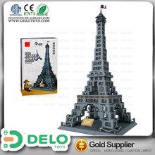 juguetes de construcción inteligente bloque de la torre Eiffel DE0083155