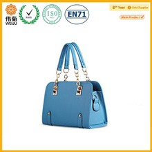 2015 Fashion spring summer stock lady pu hand tote bag