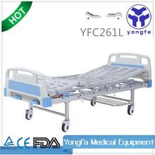 YFC261L two functions manual adjustable medical hospital adjustable bed mechanism a21
