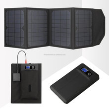 20W Foldable Solar Panel ,Portable Universal Solar Mobile Power Charger with high quality