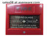 emergency glass break button conventional fire system