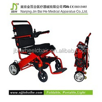 wide wheels 4x4 wheelchair with a stand-up