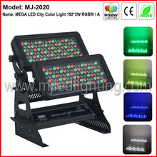 2013 best selling!!!192*3W decoration lighting for wall washing led outdoor wall washer light