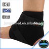 C1AN-2901 Sports Safety Black Adjustable Velcro Neoprene Sports Ankle Brace