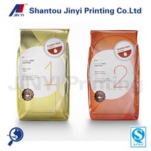 HOT side gusset bag for arabica coffee beans packaging