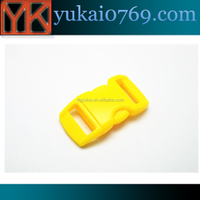 2015 good quality side release plastic buckle for backpack