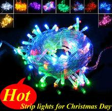 Christmas Light 10M 100LED String Light 220V Outdoor Holiday Christmas Light