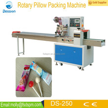Automatic bag fruit lollipop candy packing machine DS-250B