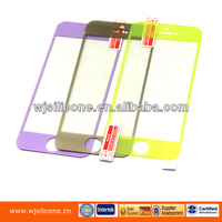 Tempered glass mobile screen protector for iphone 5, color screen film
