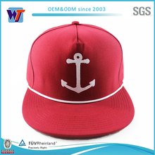 2015 New fashion Custom Design 5 Panels snapback hats
