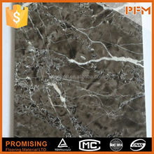 Natural china crystal white nero portoro marble