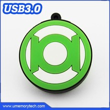 Green lantern gadget shaped usb flash drive packaging box available usb memory stick pen drive