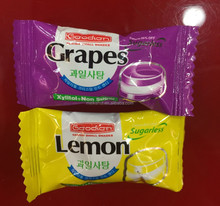 lemon and blue berry flavor fruit Hard Candy for OEM