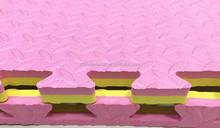 Durable Reversible Foam Soft Tile Interlocking EVA Floor Puzzle Play Mat