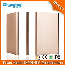 ultrathin mobile power bank with 4G/8G/16G flash memory