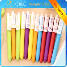 Cartoon Korean style 12 caneta little girls stationary gel-ink pen for office supplies