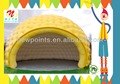 high quality yellow inflatable dome tent for sale