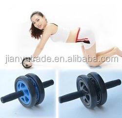 Double wheel AB roller Fitness exercise equipment