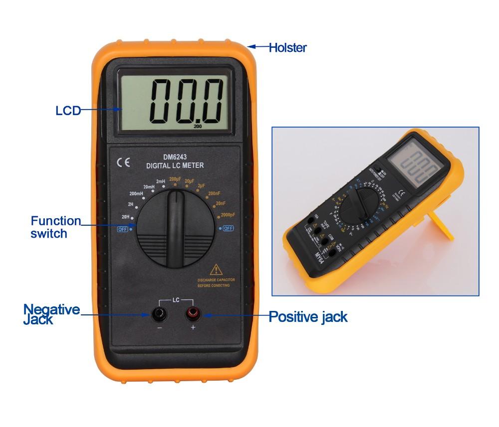 Capacitance Inductance Meter DM6243