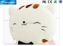 Good gift sleeping pillow cat shape stuffed animals