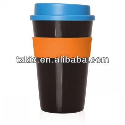 taza de ir 2 475ml tornillo <span class=keywords><strong>superior</strong></span> taza de <span class=keywords><strong>café</strong></span> con la banda de silicio