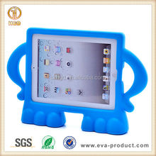 Freestanding akimbo design popular among children protector case for ipad tablet