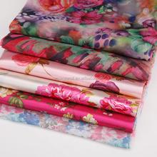 2015 Latest Fashion Dresses Fabric Custom Pattern Screen Printing Fabric