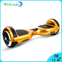 Wellvape promotional 6.5 inch colorful pink electric scooter