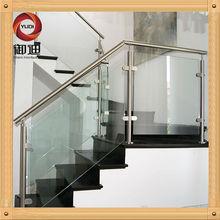 vidrio de acero inoxidable barandilla de balaustres