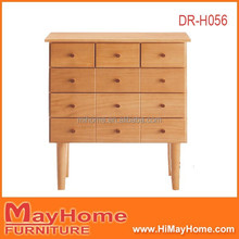 high quality modern design tall legs many small drawers cabinet