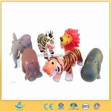 2015 sıcak satış plastik orman hayvan oyuncaklar
