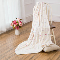 100% Polyester Material baby blanket with elephant design