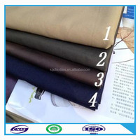 High quality competitive price cotton khaki fabric for garment