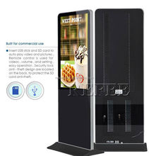 Newest free standing advertising display electronic product