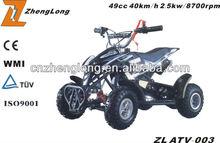 2015 new design china 4x4 atv