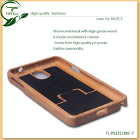 Pure Hand-made Self-design wooden bamboo wholesale smart cover case for samsung galaxy note 3