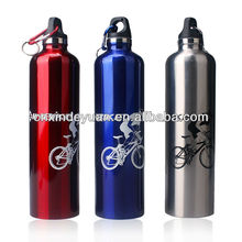 stainless steel bicycle sport water bottle