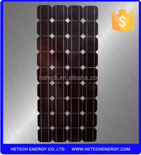 High efficiency A grade 36 cells 130w pv solar panel