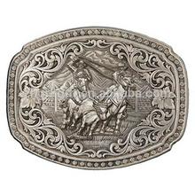 Hot Sale Fashion Zinc Alloy Western Cowboy Bulk Belt Buckle