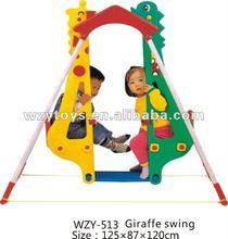 children plastic double / two seat swing