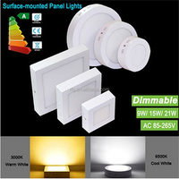 Surface Mounted LED Panel Lights SMD 2835 120 Degree LED Lighting 6W 12W 18W 25W High Power 110-265V Hot Downlight with driver