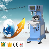 2-color pen lighter Sealed Cup pad printing machine LC-PM2-100T Gravure Tampon Printer