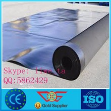 black pond liner,high quality membrane, hot sale hdpe geomembrane
