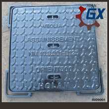 ductile iron manhole cover in cast & forged
