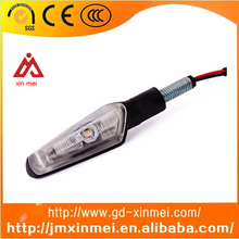 Best Selling E-mark Motorbike LED light ,aluminum Turn Signal Lights ,ECE Mini Motorcycle LED Turn Signal Light