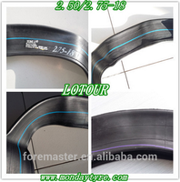 Motorcycle tube price 300-18 inner tube butyl tube