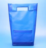 PVC/EVA plastic hand bag with a small pocket woman 2015