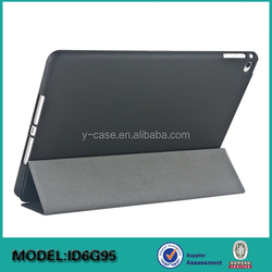 3 Fold smart cover case for iPad air 2 , For iPad leather case