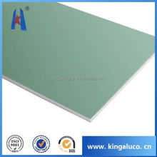 Waterproof exterior wall panel decorative material acp